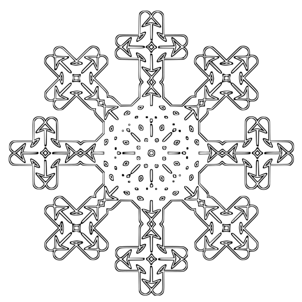 Flake  PNG Clip art