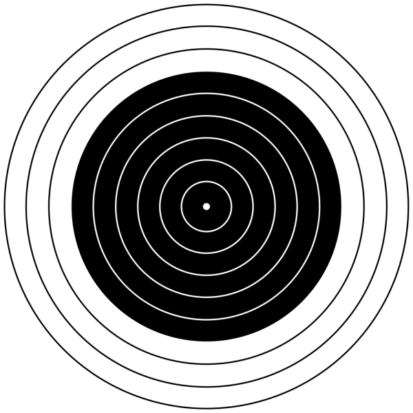 M Air Rifle Target PNG images