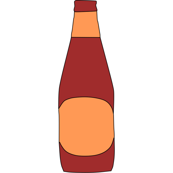 Beer Bottle 3 PNG Clip art