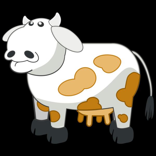Colour Cows 2 PNG Clip art