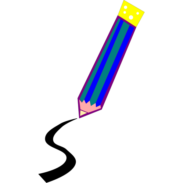 Pencil Drawing A Line PNG Clip art