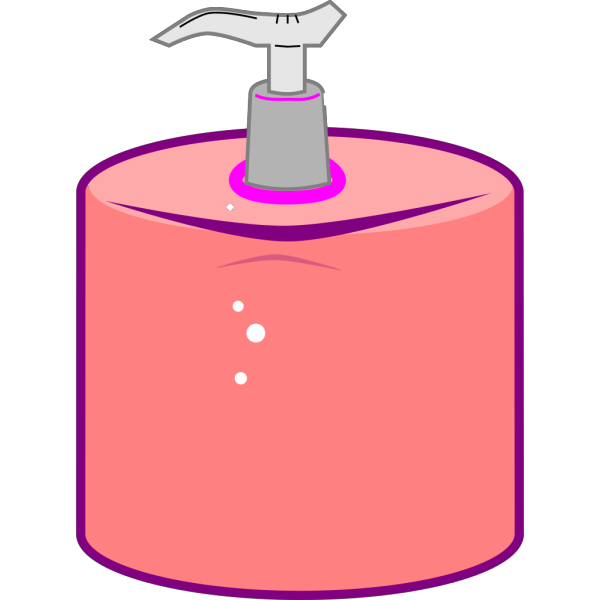 Hand Sanitizer Dispenser PNG clipart