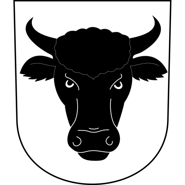 Cow Bull Horns Wipp Urdorf Coat Of Arms PNG images
