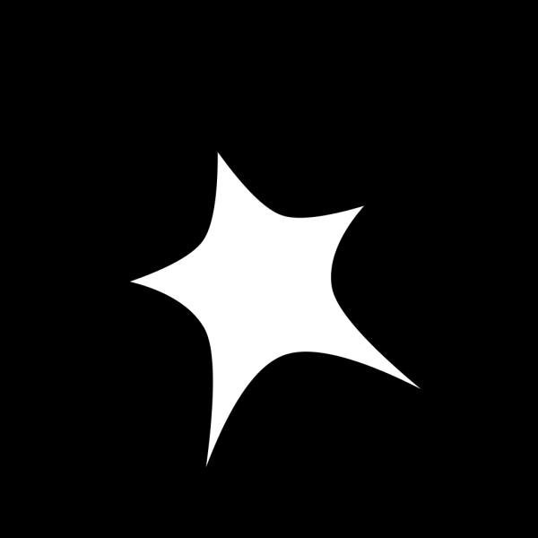 Star Sign Outline PNG Clip art