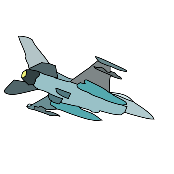 Military Fighter Plane PNG Clip art
