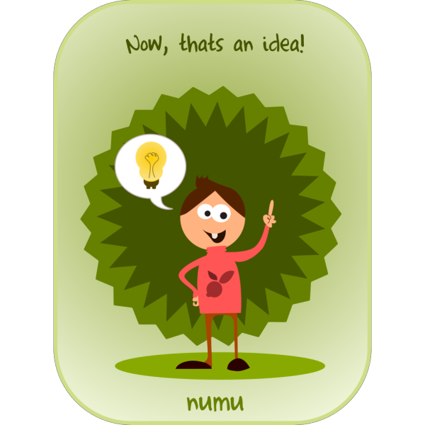 Kablam Numu Idea PNG Clip art