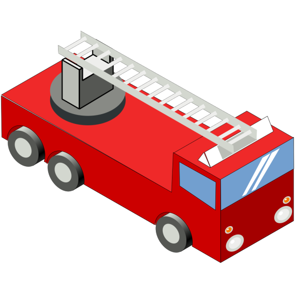 Secretlondon Iso Fire Engine PNG Clip art