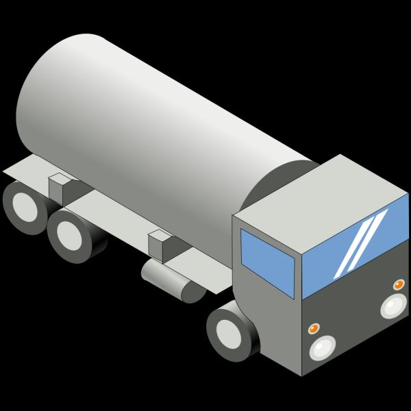 Gas Tank Truck PNG Clip art