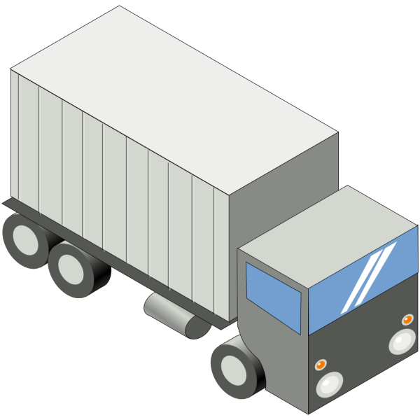 Iso Truck PNG Clip art