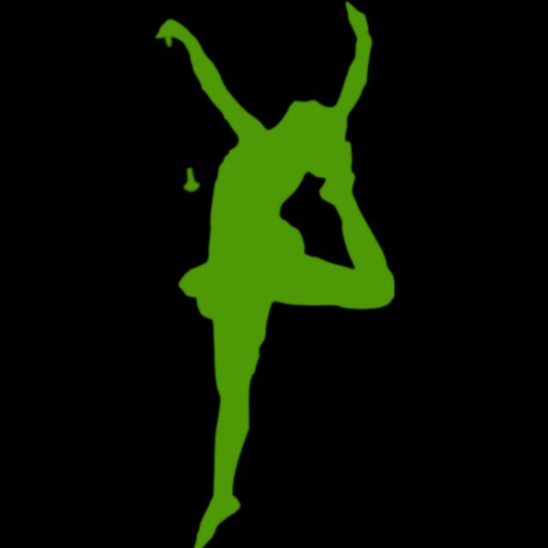 Baton Dancer Silhouette PNG Clip art