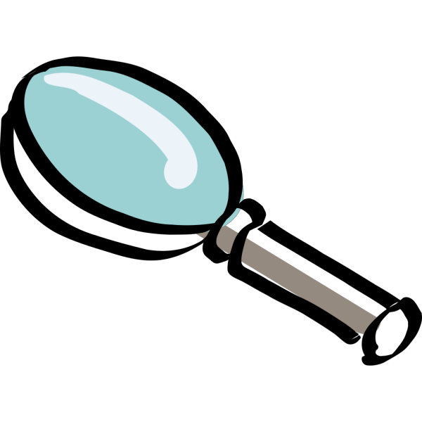 Bitterjug Magnifying Glass PNG Clip art