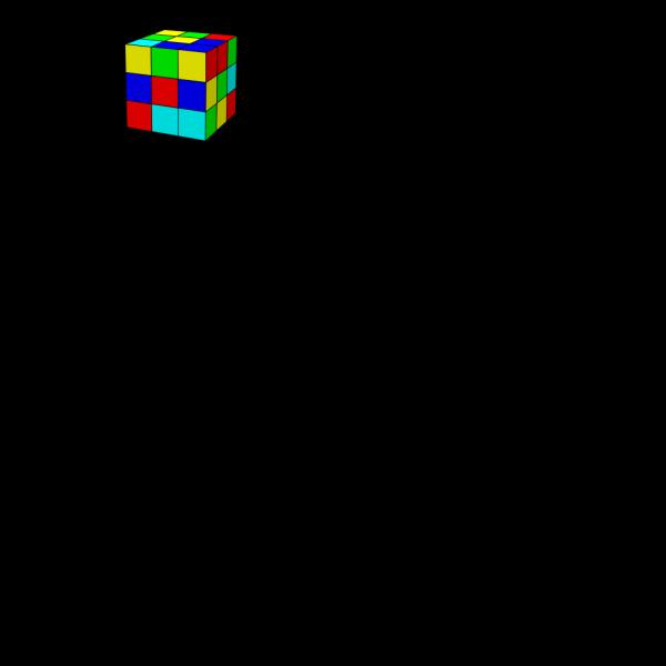 Rubik Cube PNG Clip art