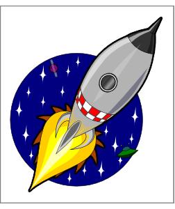Kliponius Cartoon Rocket PNG Clip art