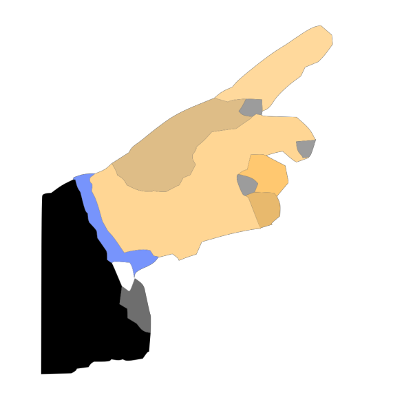 Hand Pointing Finger PNG Clip art