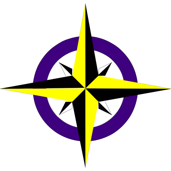 Simple Compass PNG images