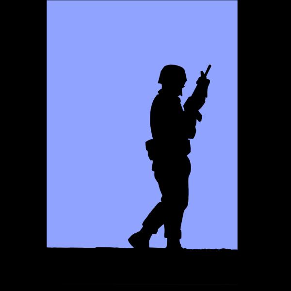 Soldier Guarding PNG Clip art
