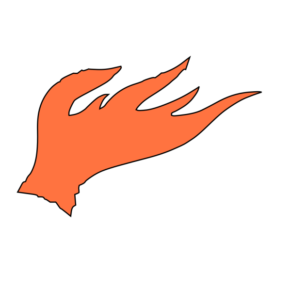 Red Fire Flames PNG icons