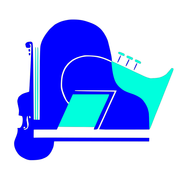 Violin Piano Saxophone PNG Clip art