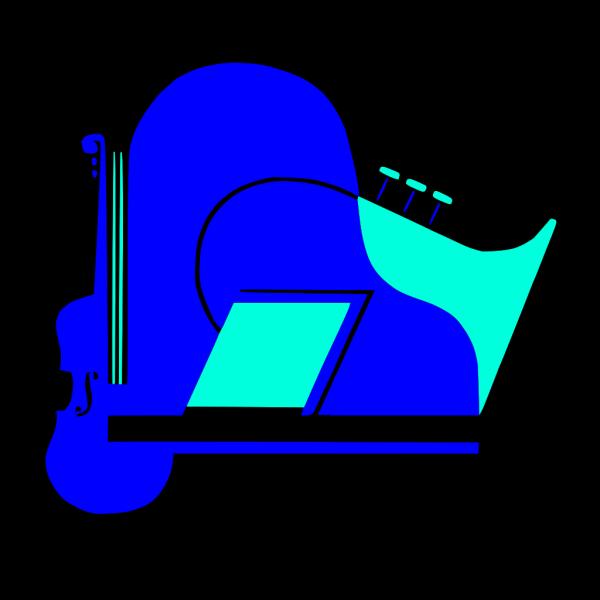 Violin Piano Saxophone PNG images