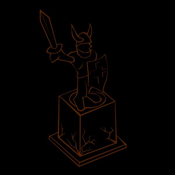 Cartoon Statue Sculpure PNG images
