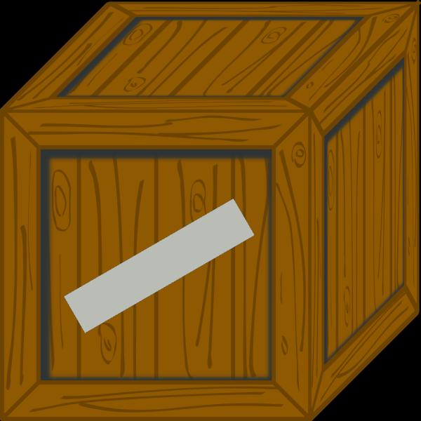 Wooden Crate PNG Clip art