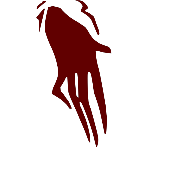 Ghost Scary Hand PNG Clip art