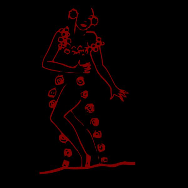 Flamenco Spanish Dancer PNG Clip art