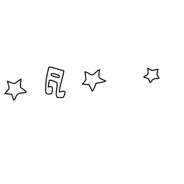 Music Note And Stars PNG Clip art