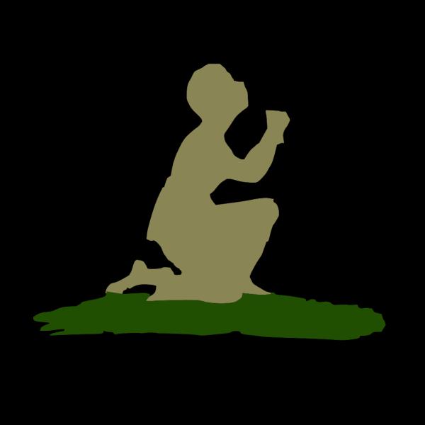 Kneeling Praying God PNG Clip art