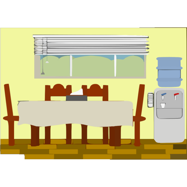 Diningroom PNG Clip art