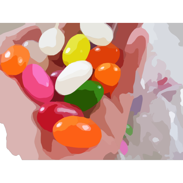 Jelly Beans PNG Clip art