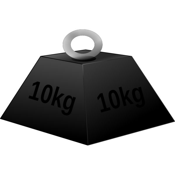 Weight 1 PNG clipart