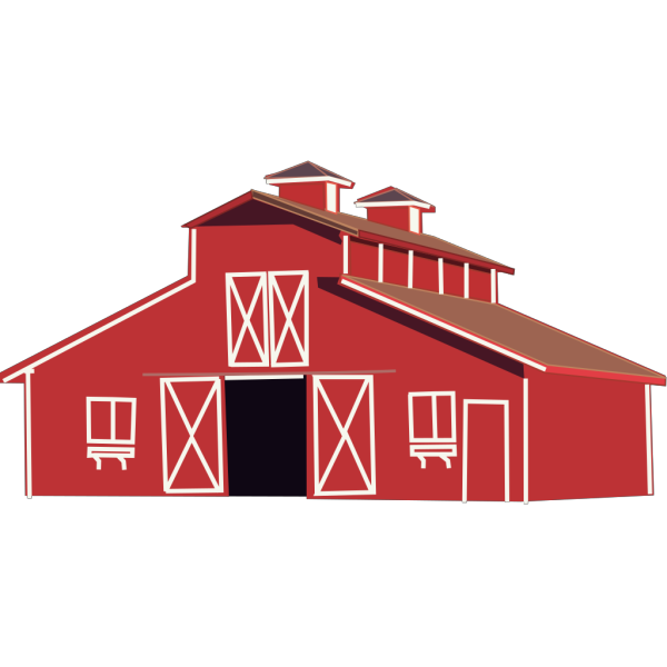 Red Barn PNG icons