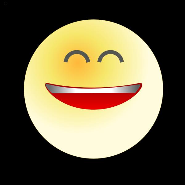 Tango Face Smile Big PNG Clip art