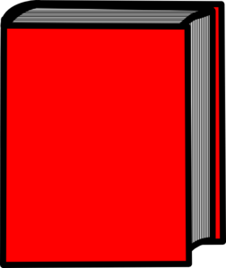 Pair Of Red Books PNG Clip art