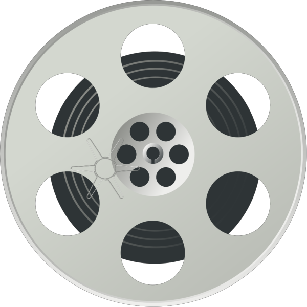 Movie Reel PNG Clip art