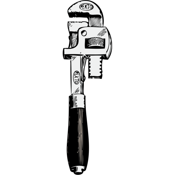 Pipe Wrench PNG Clip art