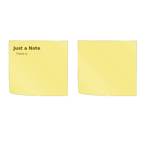 Sticky Note (post-it) PNG Clip art