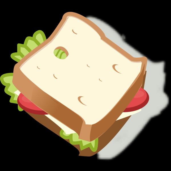 Vegetarian Sandwich PNG Clip art