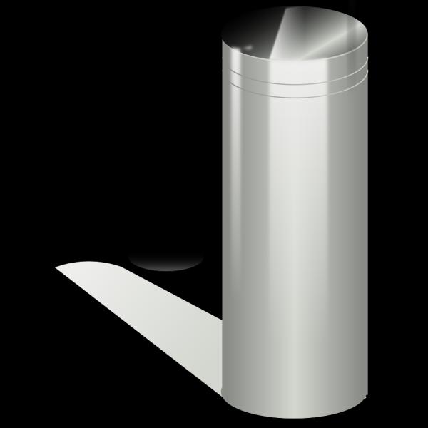 Metallic Tube PNG Clip art