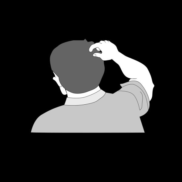 Scratching Head PNG Clip art
