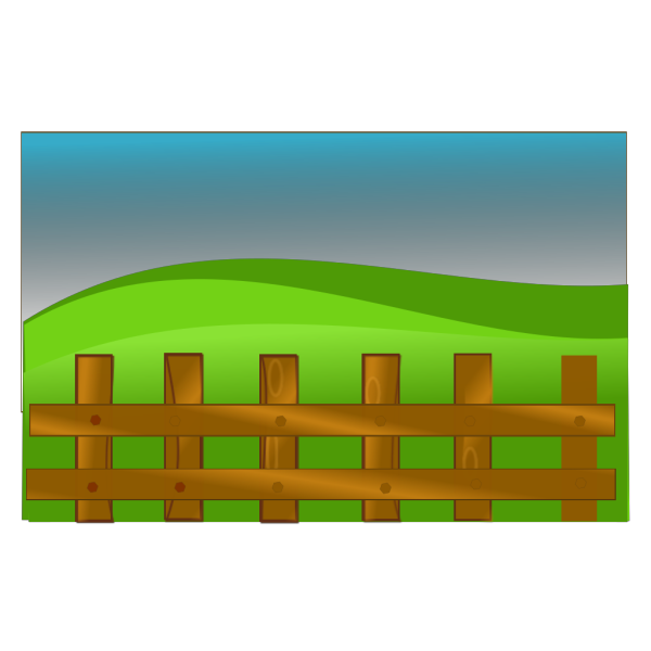 Farm Fence PNG Clip art