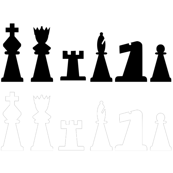 Chess Titans PNG Clip art