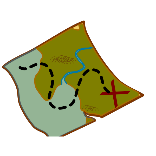 Treasure Map PNG Clip art
