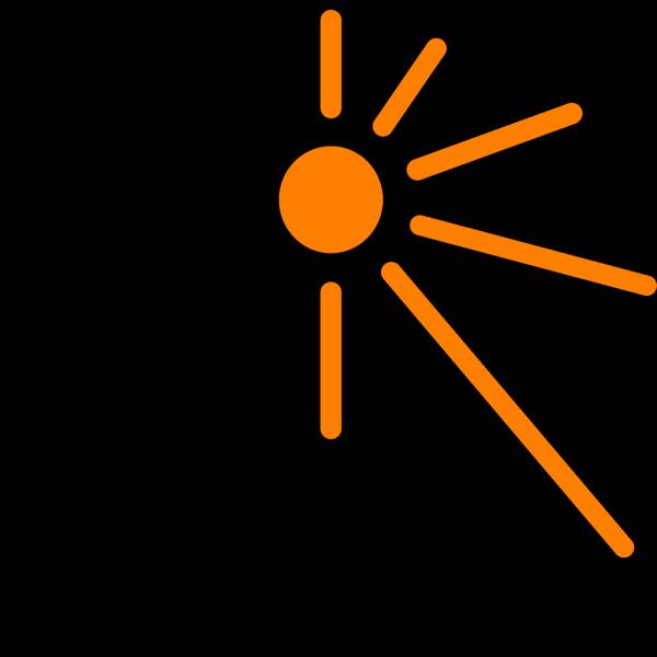 Half Sun PNG Clip art