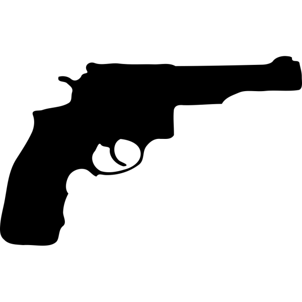 Pistol Silhouette PNG Clip art