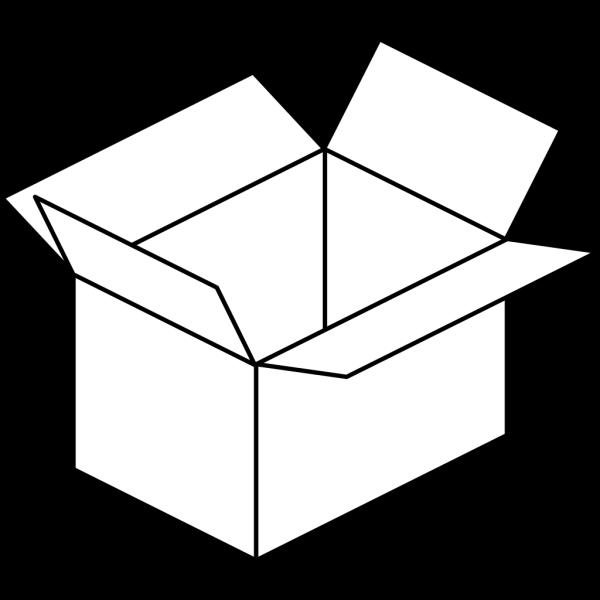 Carton Open Box PNG Clip art