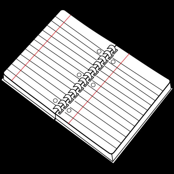 Spiral Notebook PNG Clip art
