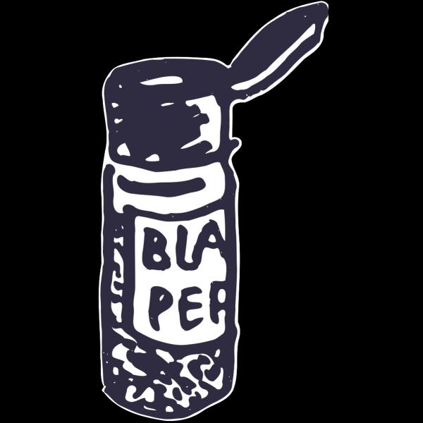 Black Pepper Shaker PNG images