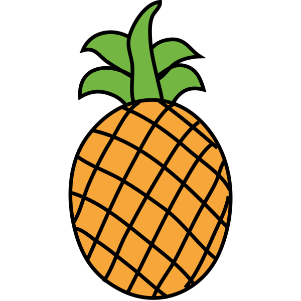 Pineapple PNG images